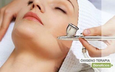 Oxígeno puro para tu piel